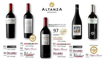 Logo for:  ALTANZA Bodegas