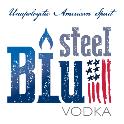 Logo for:  Steel Blu Vodka